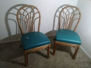 Antique style chairs $15 both for Sale in Tucson, AZ