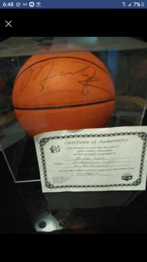 Authentic Michael Jordan signed basketball for Sale in Glendale, AZ