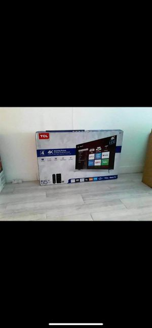"""55"""" TCL Roku Smart 4k UHD TV for Sale in Ontario, CA"""