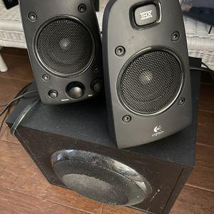 Logitech THX Certified 2.1 Speakers for Sale in Carlsbad, CA