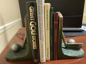 FREE golf books with golf bookends. for Sale in South Miami, FL