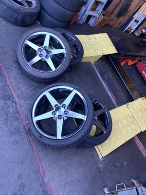 C6 rims and wheels for Sale in Richmond, CA