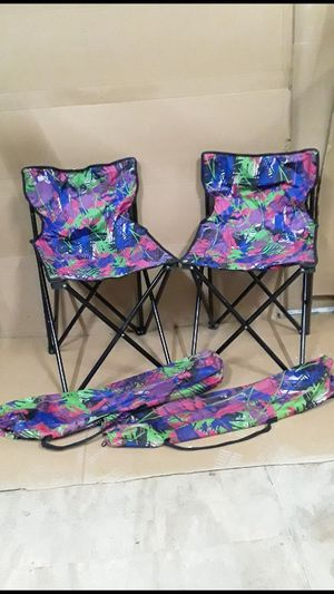 2 portable chairs for Sale in North Providence, RI