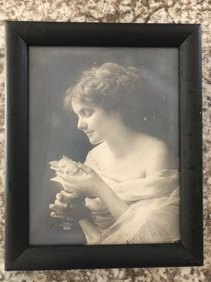 "Antique 9""X11"" Framed Print Victorian Lady for Sale in North Royalton, OH"