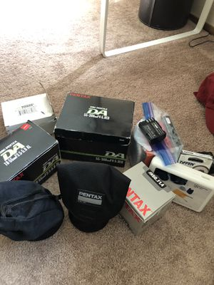 Pentax gear for Sale in Vacaville, CA