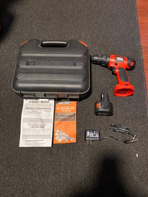 Black & Decker 9.6v Cordless Drill for Sale in Gilbert, AZ