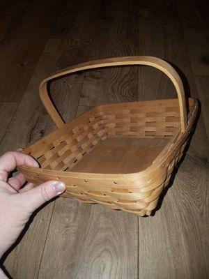 Signed Longaberger Basket for Sale in Phoenix, AZ