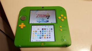 Nintendo 2DS Green Zelda Limited Edition with 4gb of Zelda and Mario 3DS games - CFW for Sale in Lake Worth, FL