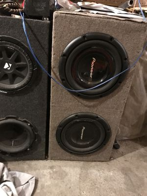 "Pioneer 12"" subs for Sale in Park Rapids, MN"