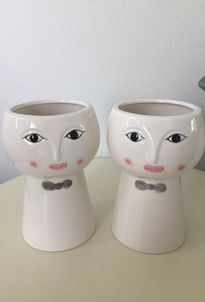 Ceramic vase/home decor/plants pot for Sale in Lynnwood, WA