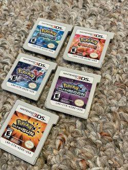 Nintendo 3DS Pokémon Games for Sale in Seattle,  WA