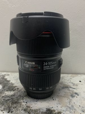 Canon EF 24-105 f4.0 usm ii for Sale in Los Angeles, CA