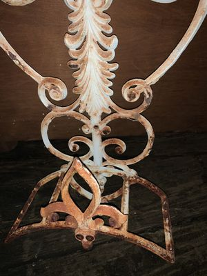 Vintage farmhouse Wrought iron hose holder for Sale in Mishawaka, IN