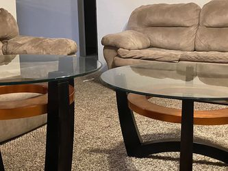 2 End Tables, Coffee Table , And Couch Set for Sale in Houston,  TX