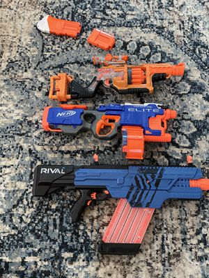 Nerf gun lot for Sale in Rancho Cordova, CA