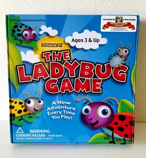 The Lady Bug Kids Game Award Winner No reading necessary for Sale in Colton, CA