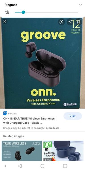ONN Wireless Earbuds with charging case for Sale in Colonial Heights, VA