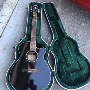 Ibanez Acoustic Electric Guitar With Hardshell Case . for Sale in Hayward, CA