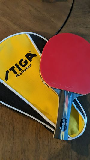 Stiga Supreme Ping Pong paddle and case for Sale in San Diego, CA