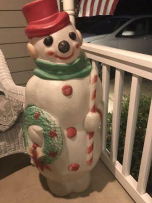 Plastic snowman for Sale in Naperville, IL