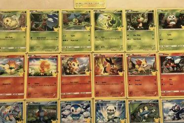 Pokemon 25th Anniversary Mcdonalds Whole Set Non-HOLO for Sale in Hialeah,  FL