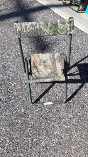 Camo camp chair for Sale in Butte, MT