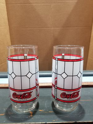Vintage Libby Coca Cola Collectible Glasses (2) for Sale in Mount Gilead, OH