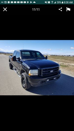 Ford f350 fx4 diesel bulletproof 4x4 Trade for Sale in Pomona, CA