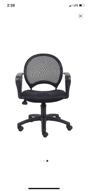 Mesh office chair with loop arms for Sale in Lynwood, CA