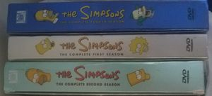 The Simpsons Season 1, 2 and 4 DVD Collection Box Set for Sale in San Francisco, CA