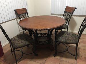 Wood dinner table for Sale in Apache Junction, AZ