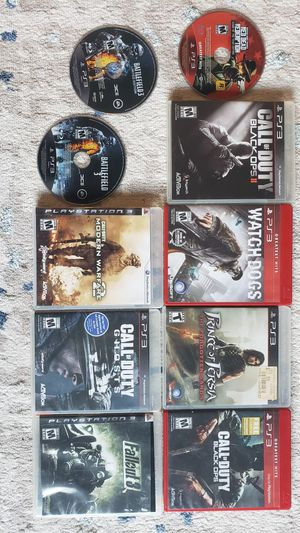 PS3 game bundle for Sale in Aliquippa, PA
