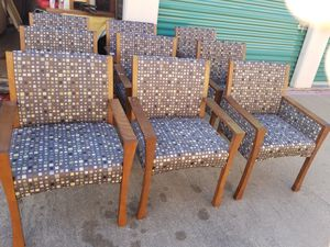RECEPTION CHAIRS for Sale in Dallas, TX