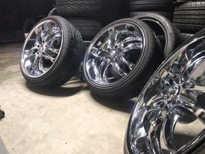 "20"" chrome rims for Sale in Orlando, FL"