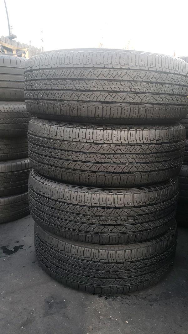 245/60/18 4Michelin tires