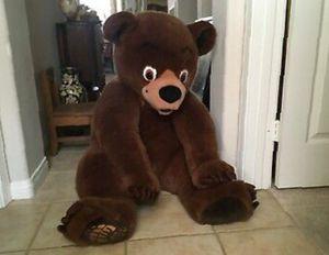 "Teddy Bear Giant 55"" Big Stuffed Animal Brown Plush Soft Toy 140cm HUGE Cuddly for Sale in Boston, MA"