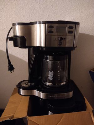Hamilton beach dual coffee maker for Sale in Orlando, FL