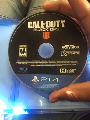 Black ops 4 for Sale in Greenville, NC