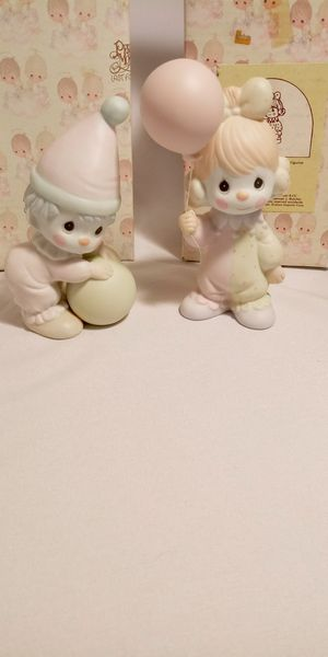 Like new vintage Precious Moments clowns for Sale in Ontario, CA