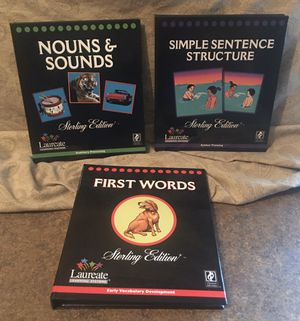 Laureate Learning Systems Sterling Edition Innovative Educational Book/Software Sets For Children & Adults With Special Needs (Education/Schooling) - for Sale in Fox Lake, IL