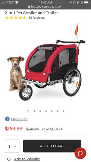 Dog stroller/trailer for Sale in Las Vegas, NV