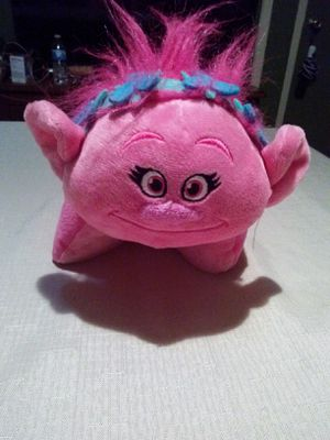 "Trolls ""poppy"" light up pillow for Sale in Fort Worth, TX"