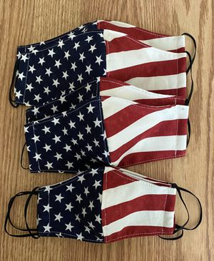 Family matching American Flag face masks for Sale in Washington, DC