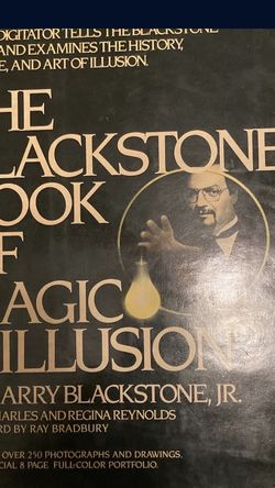 The Black stone Book Of Magic And Illusion Signed By: Harry Blackstone, Jr for Sale in Winter Garden,  FL