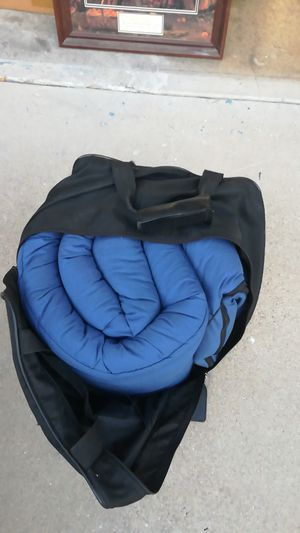 Sleeping bag in a sport Graphics holder for Sale in Rancho Cucamonga, CA
