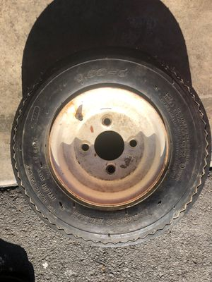 Trailer tire. Size. 4.8 - 8. Asking for $30. FIRM PRICE for Sale in Edmonds, WA