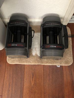 Powerblocks 10-50lb for Sale in Milpitas, CA