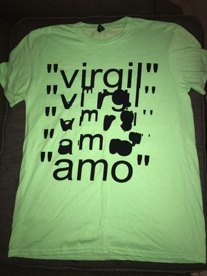 Off White Virgil Abloh T-Shirt SIZE L for Sale in Brooklyn Park, MN