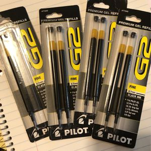 Pilot G2 0.7mm FINE Black Ink Premium Refills for Sale in Fairfield, CA