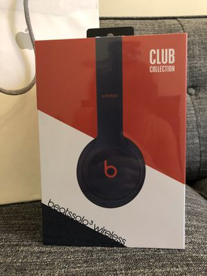 [BRAND NEW] Beats Solo3 Wireless Club Collection Headphones (Navy) for Sale in Bellevue, WA
